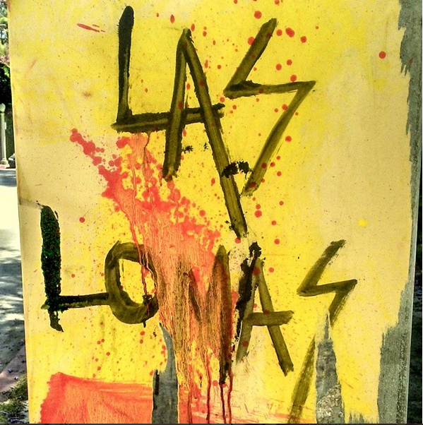Graffiti in Hollywood