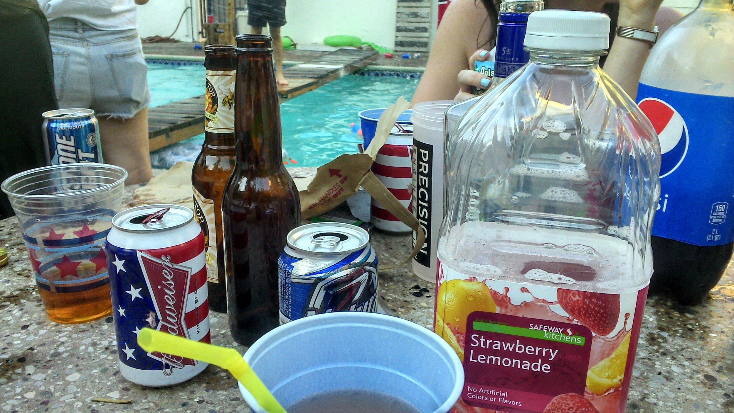 Frat house drinks