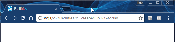 Altering the URL does not expose the document I created today