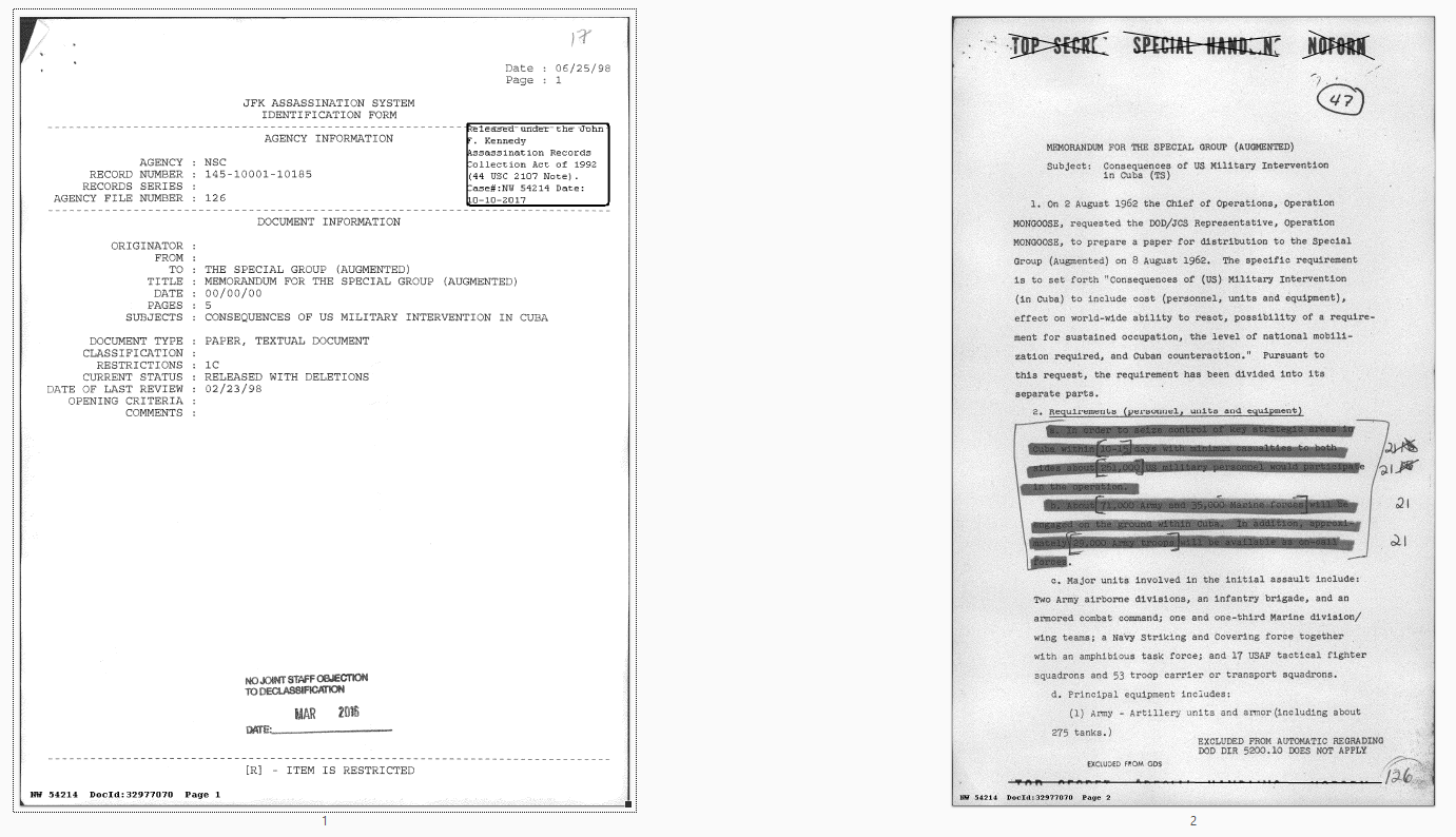 Example document with cover sheet -- I would rather see the second page in the thumbnail