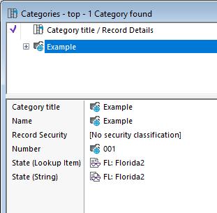 Navigating categories