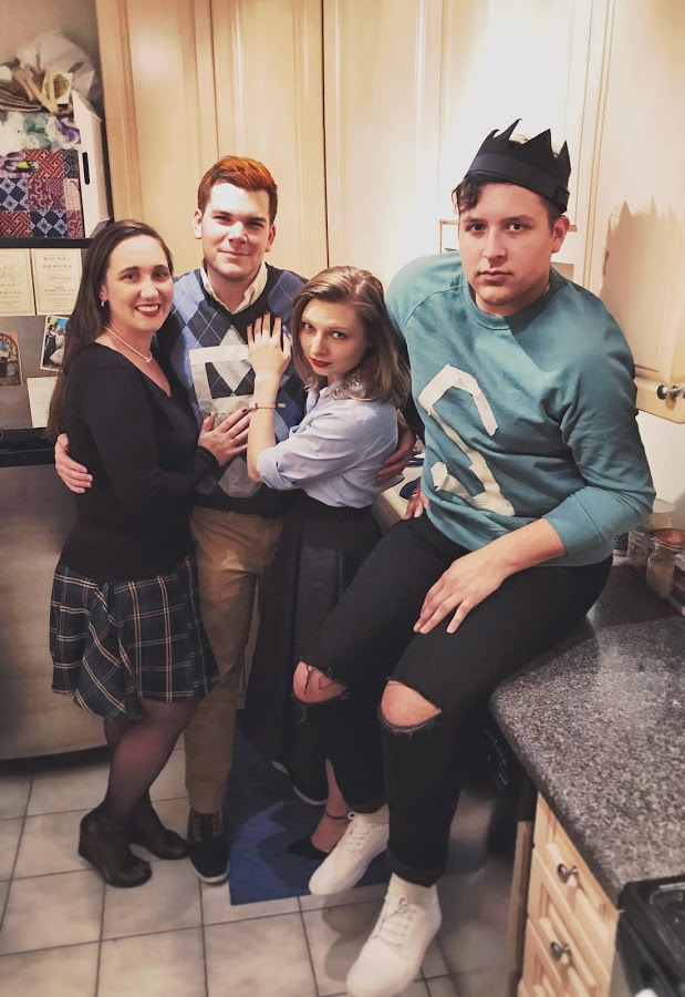 """First, I was able to gather the Riverdale crew together for a classic Archie look.  """"I'm weird, I'm a weirdo."""""""