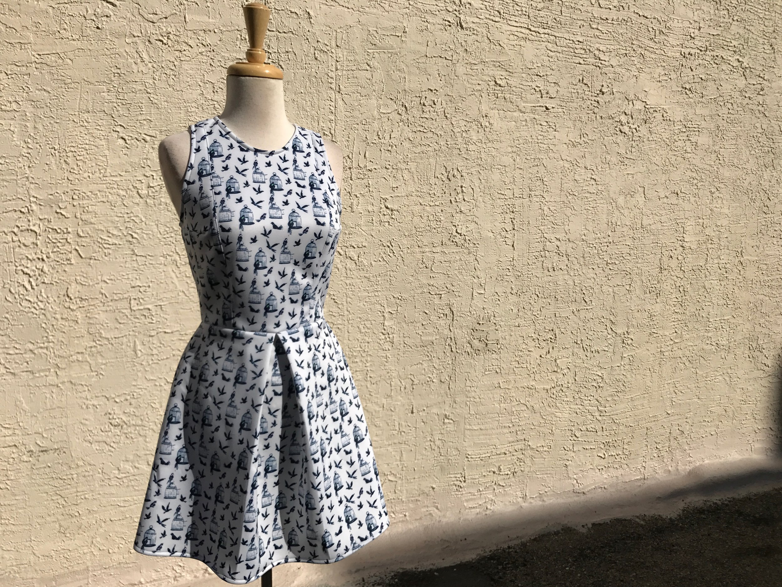 Earl Salko Pleat Skirt Dress.jpg