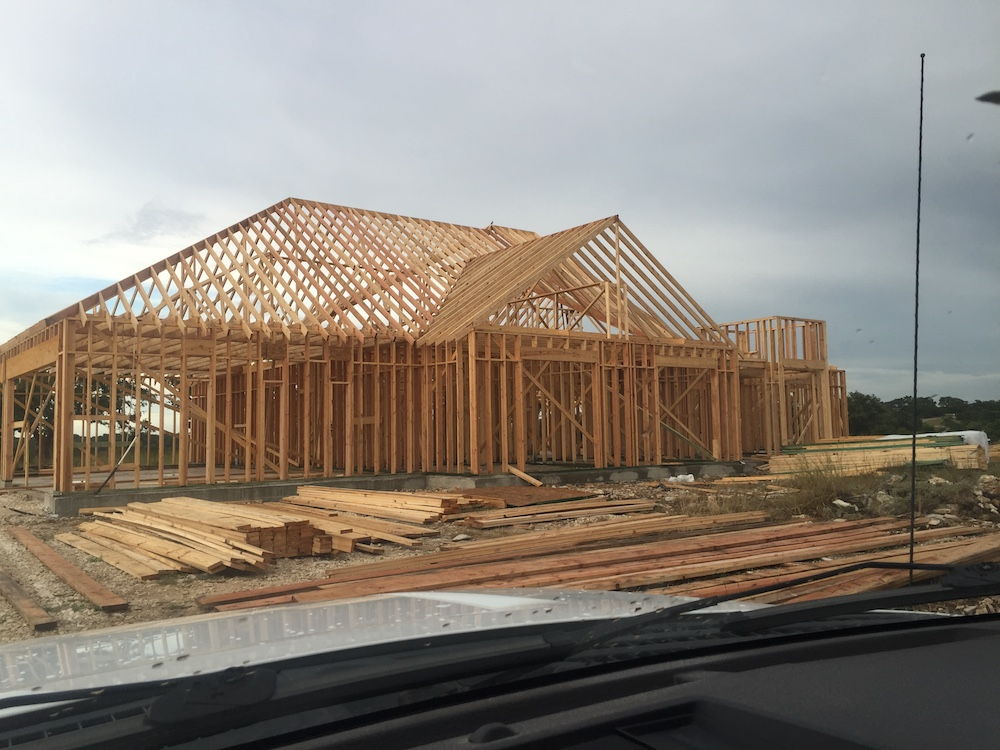 Roofing - Our roof rafters are all spaced 16 inches apart instead of 24 inches as code states. This makes for a stronger roof which is more able to withstand extreme weather and age.