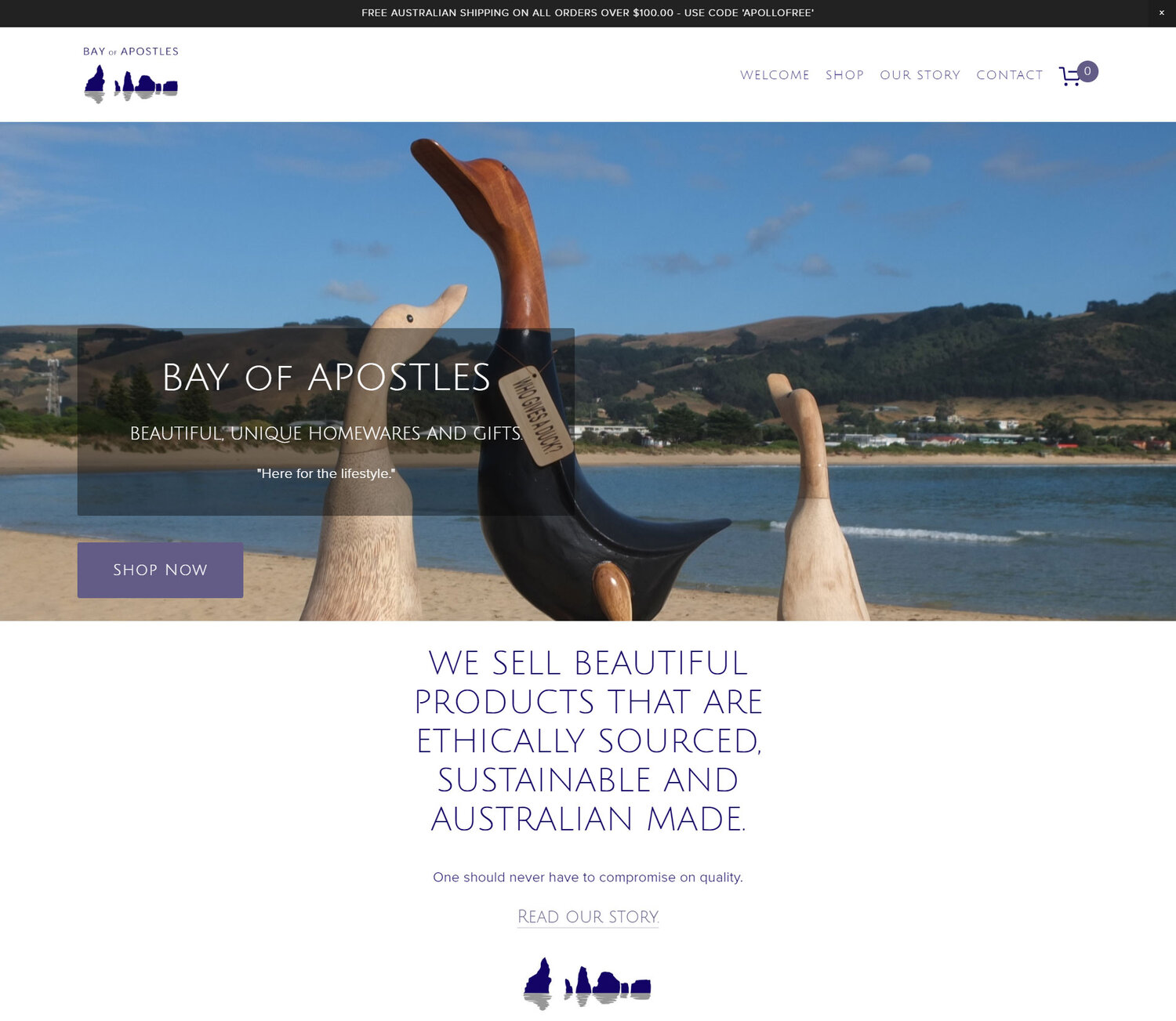 Bay of Apostles - Home Page