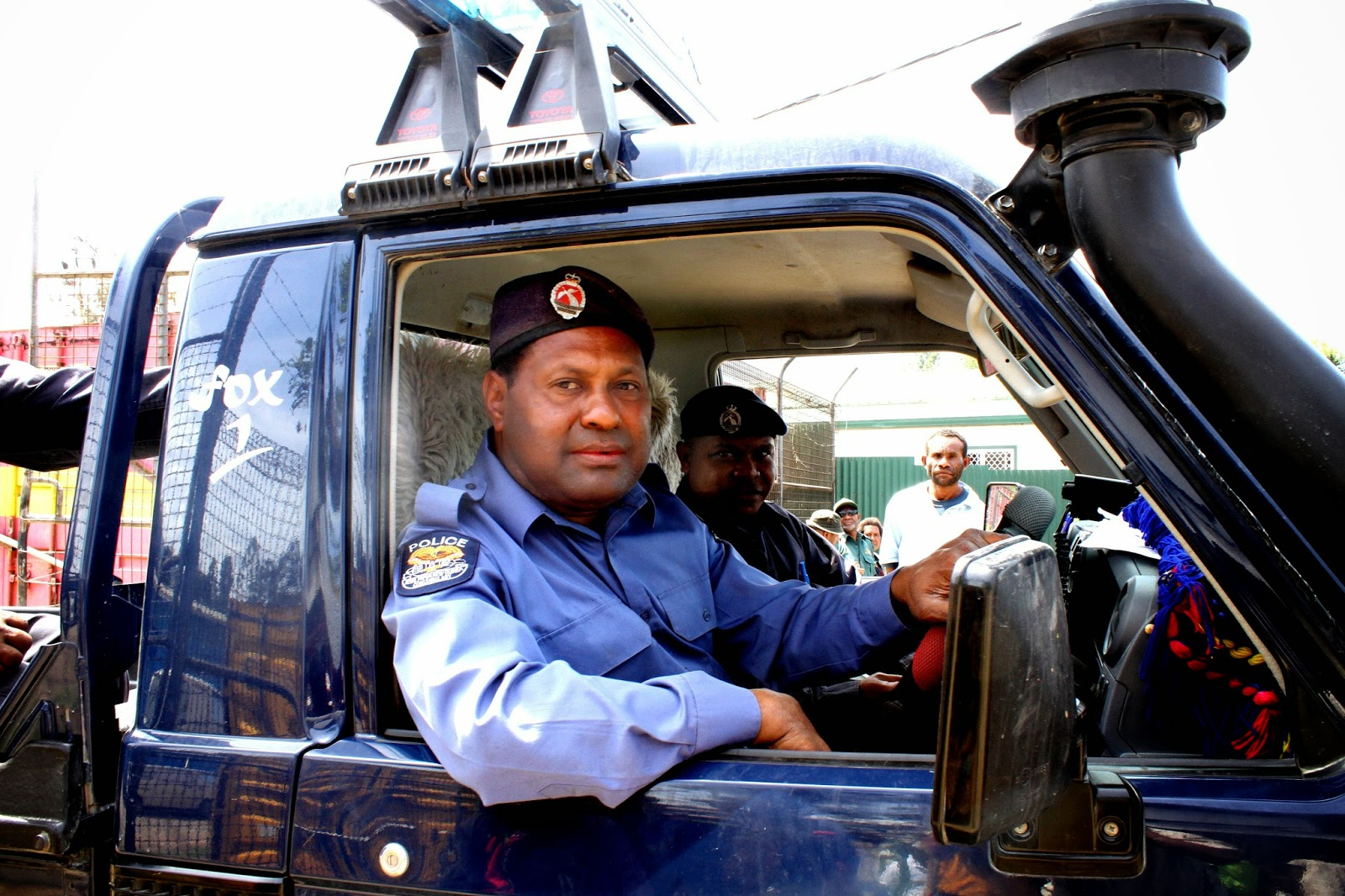 Police in Kundiawa