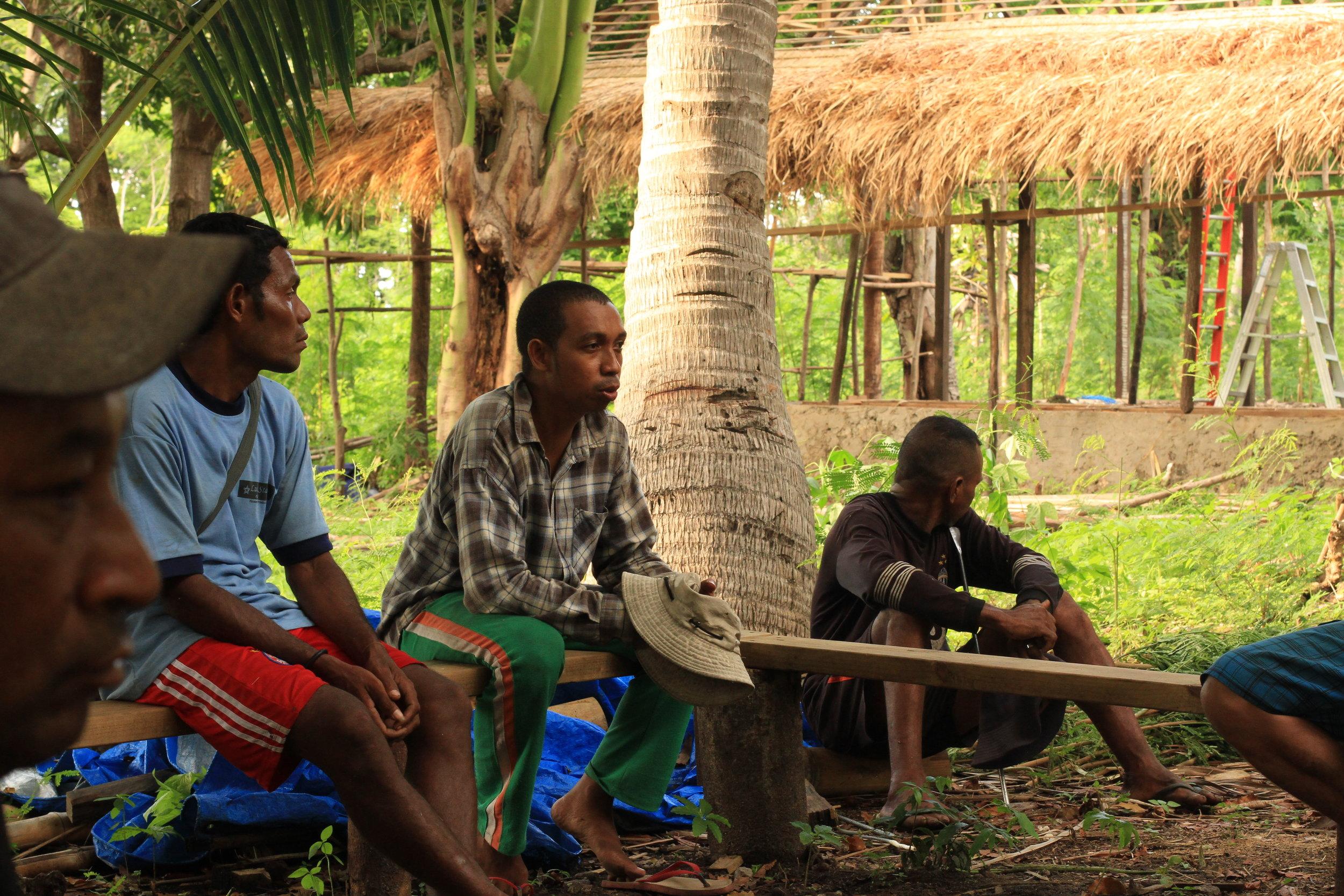 NaTerra workers from Atekru village.