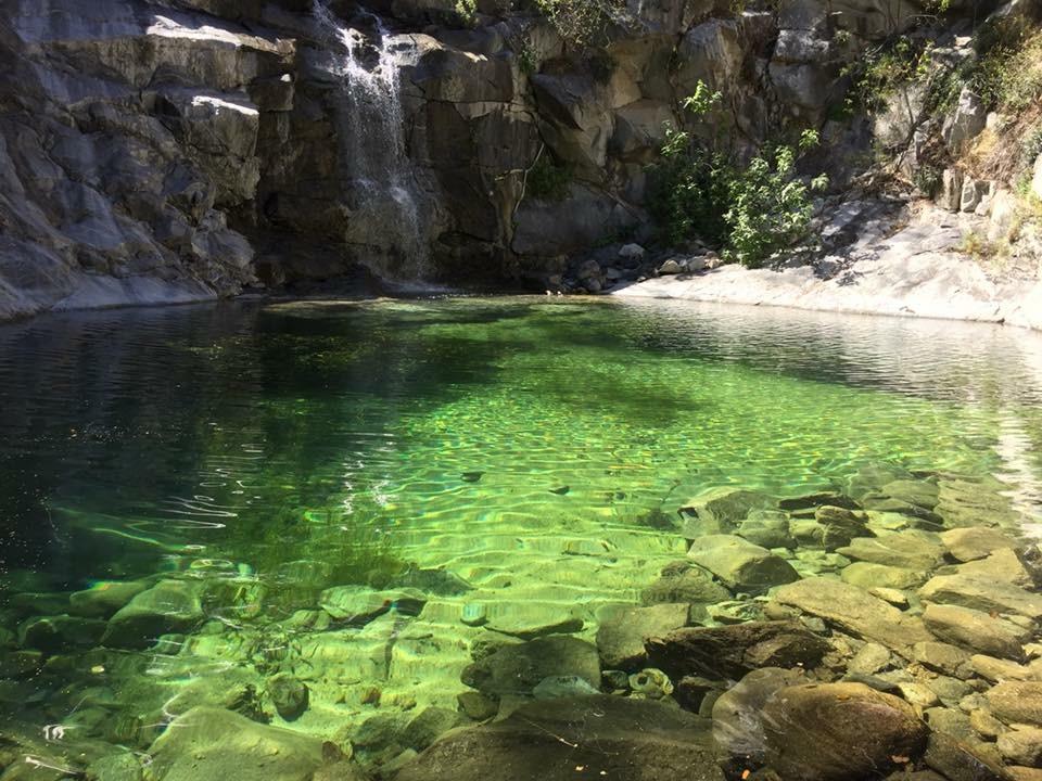 Waterfall in the Sierra de la Lagunas