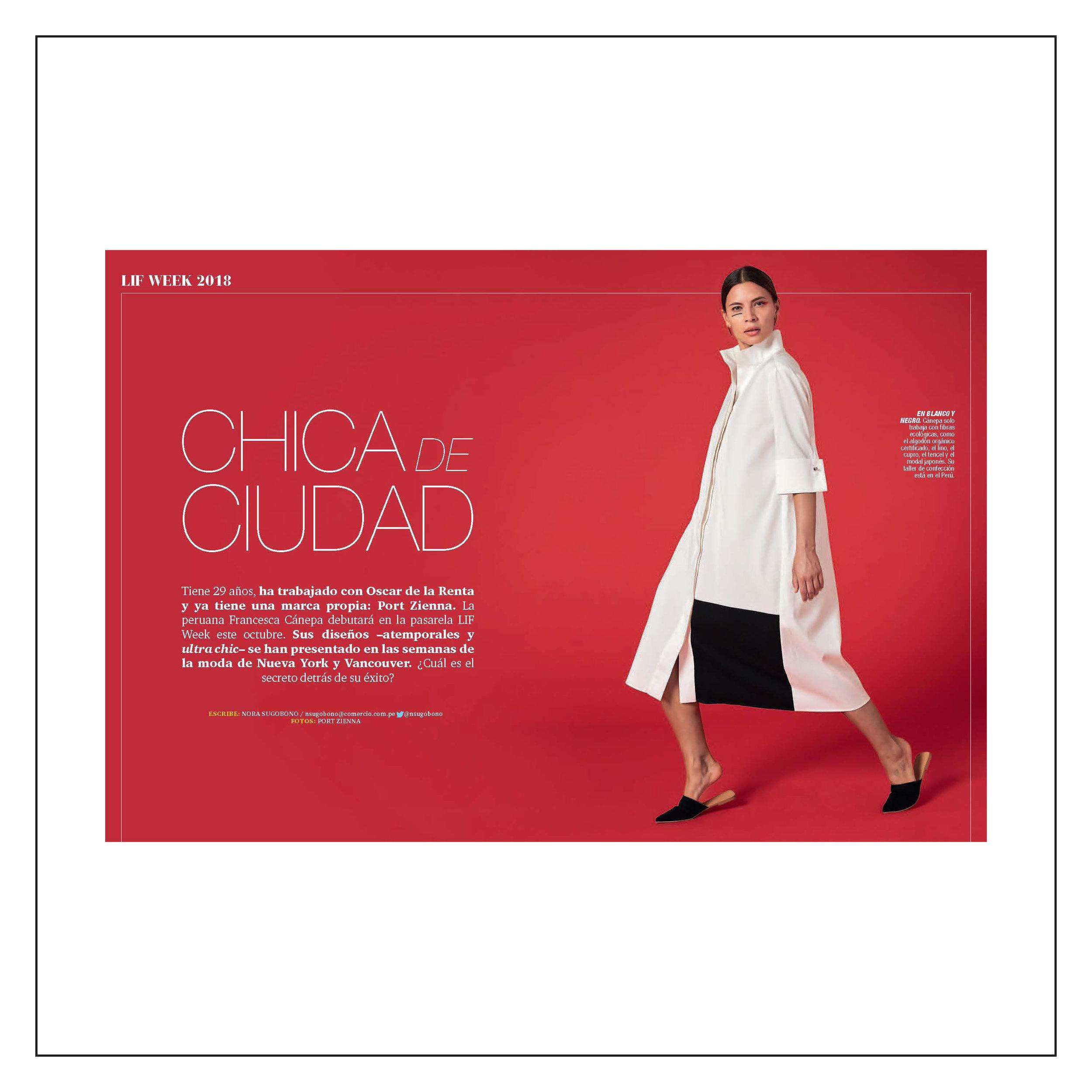 Somos El Comercio — October 2018