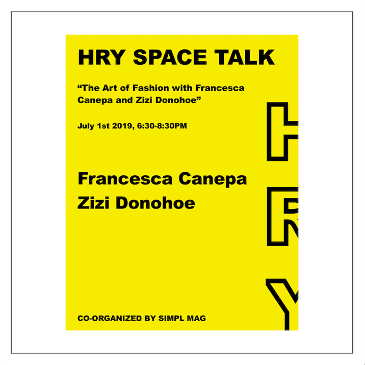 HRY SPACE Talk — July 2019