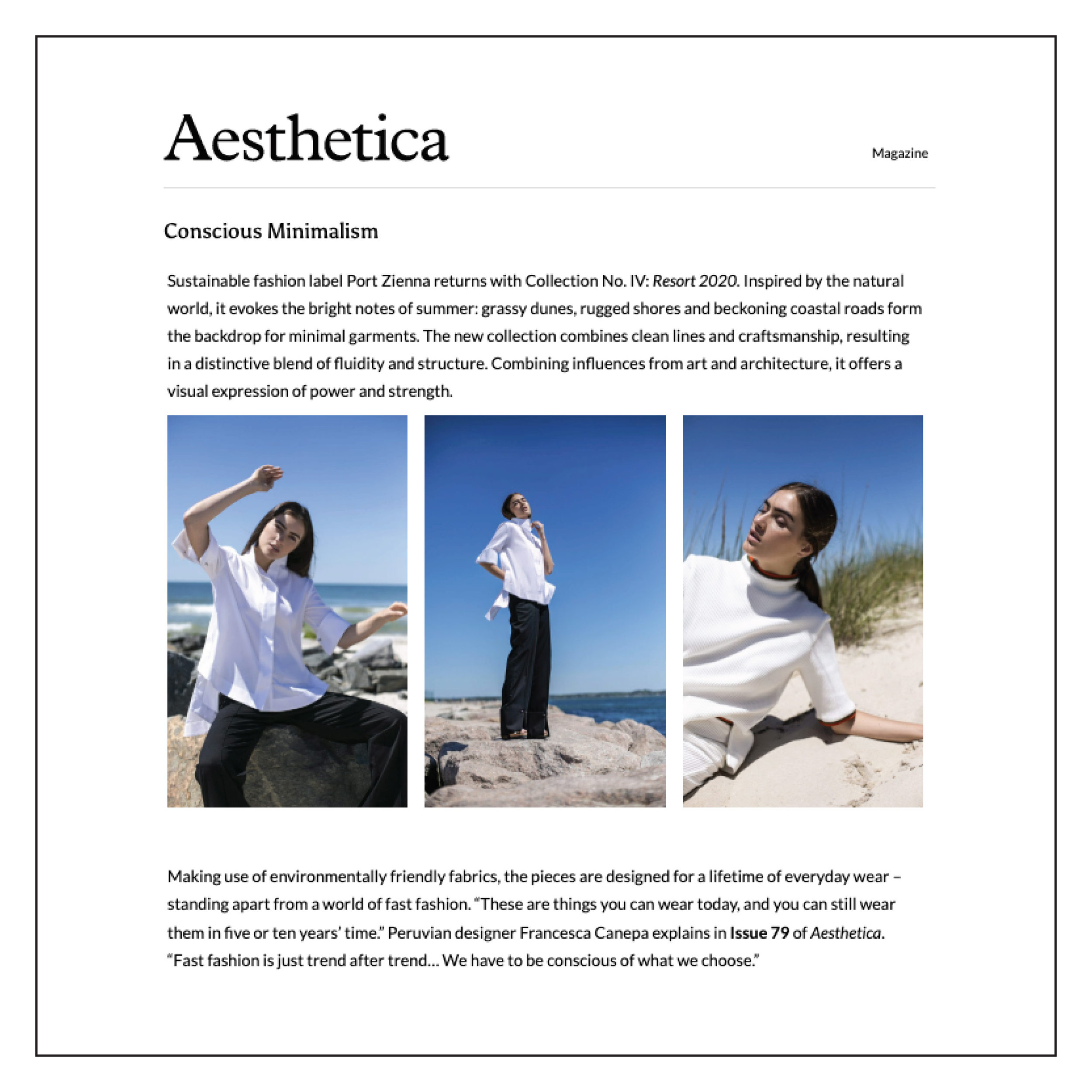 Aesthetica Magazine — July 2019