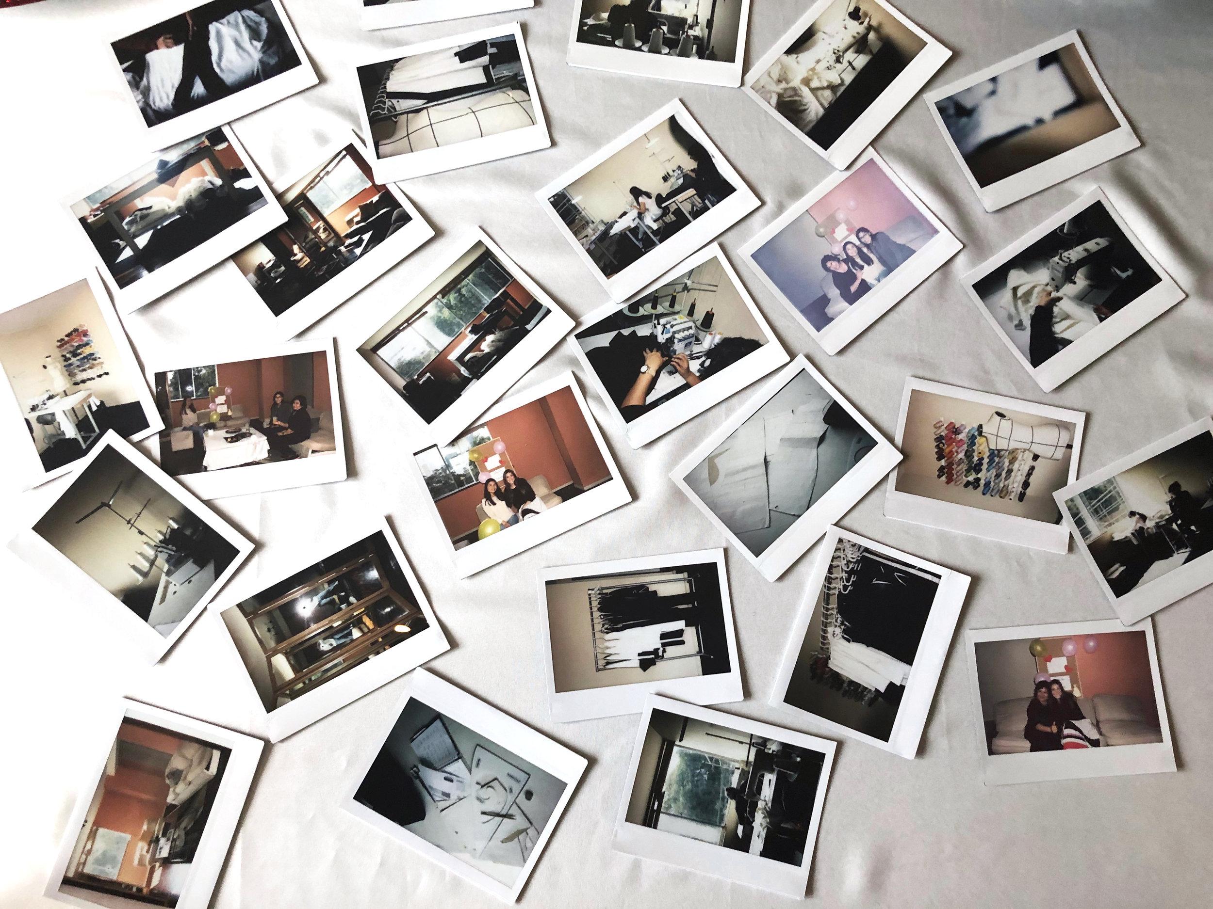 Polaroids from the Port Zienna Studio - Perú