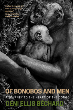Of Bonobos and Men by Deni  Ellis Béchard  If you find yourself struggling with how people could possibly accept the mass extinction of animals, we suggest you read this and know you're not alone.