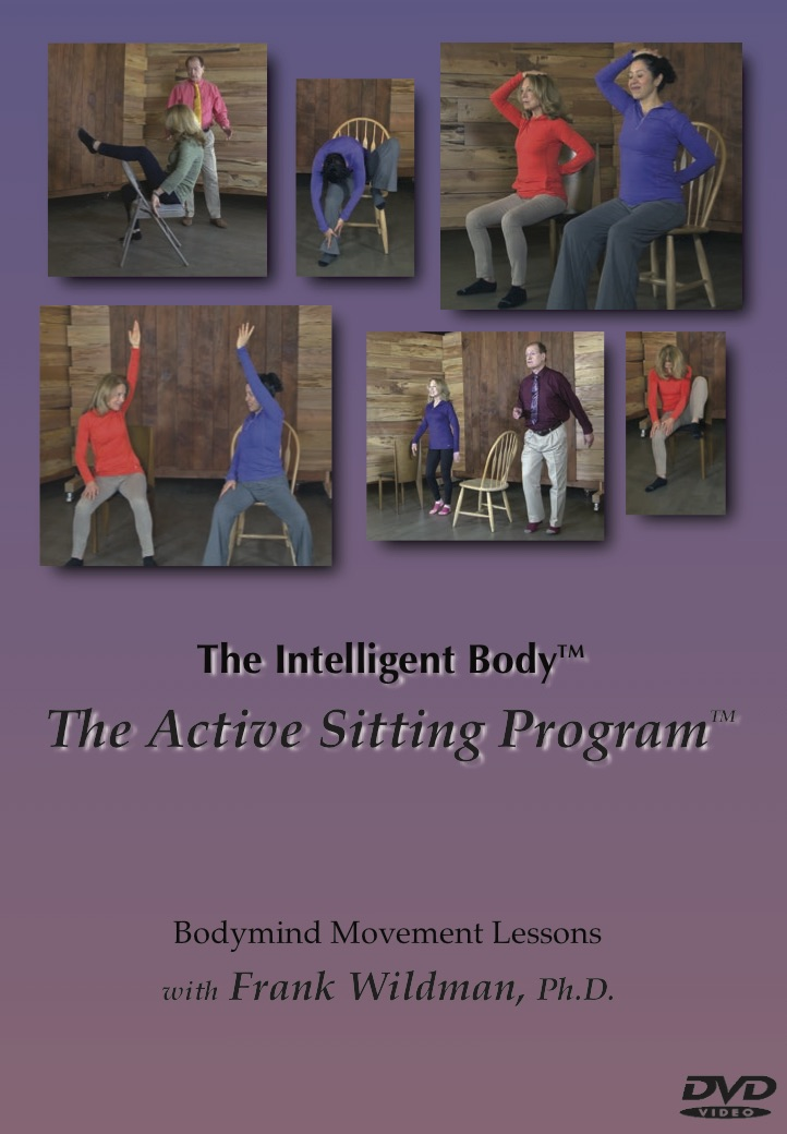 The Active Sitting Program - High value movement lessons you can use if you spend too long sitting or would like to sit more comfortably. If sitting is the new smoking, these lessons will help you to quit just sitting too still or too long and have a fun time in or next to a chair.