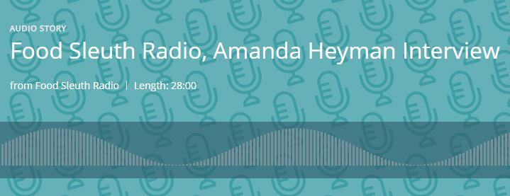 Food Sleuth Radio - I talked with Melinda Hemmelgarn about organic farming, pesticide drift and GMO labeling.