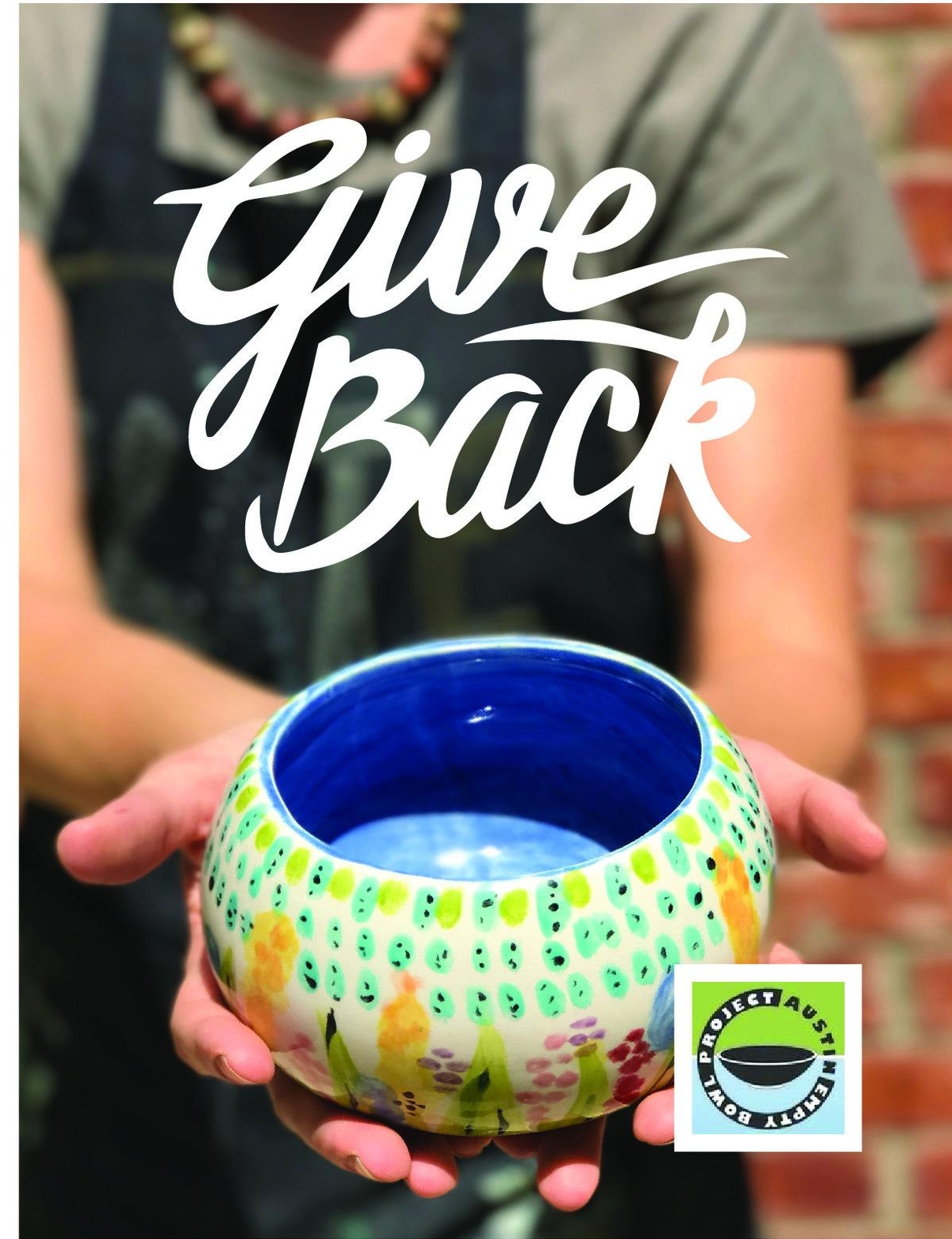 Bring the kids, make it a date night, or grab the gang for a pottery painting party that GIVES BACK.Paint one of our empty bowls for $13+tax to be donated to The Empty Bowl Project. Feed your soul and help feed our neighbors. Together is better. -