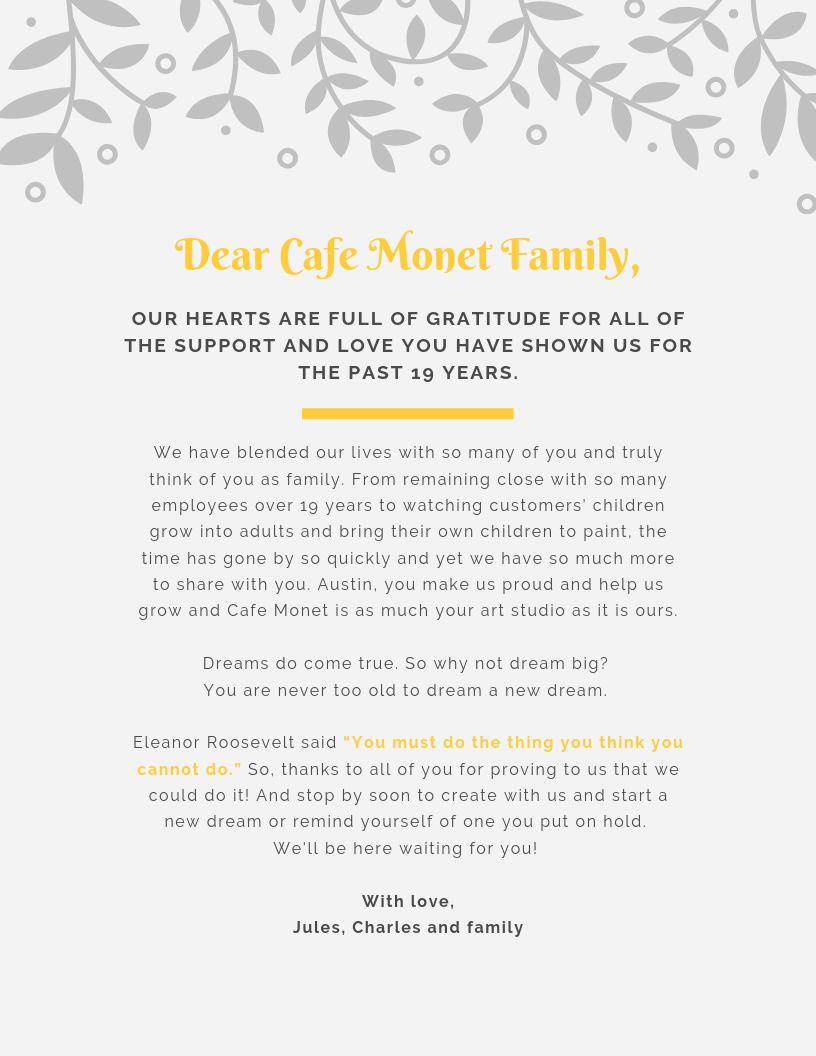 Dear Cafe Monet Family,.png