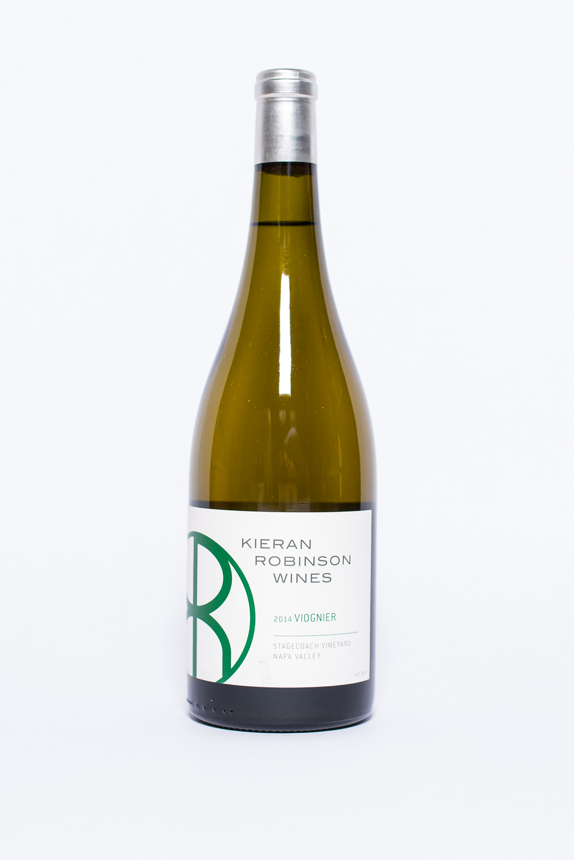 """""""Stagecoach"""" Viognier 2014    Producer:   Kieran Robinson Wines    Region:  Sonoma  Grapes:  Chardonnay  Characteristics:  The nose reviles wet stone, lemon curd and fresh picked apricot. The mouth-feel is seamless from front to back with great acid to pull everything together."""