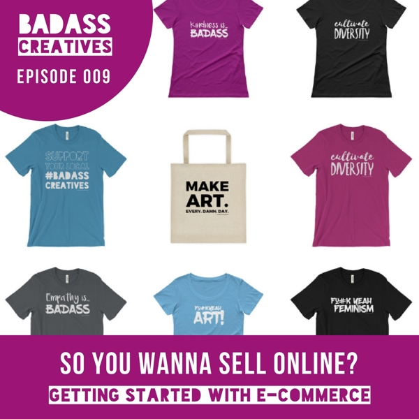 Ready to get started selling your art or handmade products online, but have no idea where to start? This intro to ecommerce is just what you need.