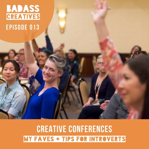 It's been 10 years since I attended my first creative conference. Learn more about my favorite conference experiences and my tips for how introverts can use conferences to meet new people and grow their business.
