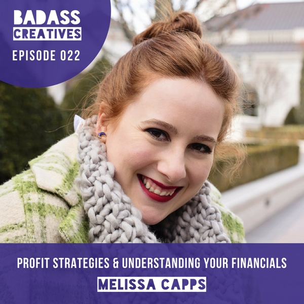 Melissa Capps works with creative businesses to help them understand their financials, from bookkeeping basics to their profit strategy. In this episode, she shares the money mistake she sees creative business owners make most often.