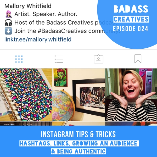 Curious about hashtags, growing your audience and driving traffic to your website from Instagram? This week's episode is full of Instagram tips and tricks.