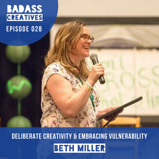 Beth Miller is the Executive Director of the Creative Education Foundation, a non-profit which produces CPSI, the world's longest-running creativity conference. We talk about deliberate creativity, embracing vulnerability, and how a paper Beth wrote as an undergraduate has been adapted into a play.
