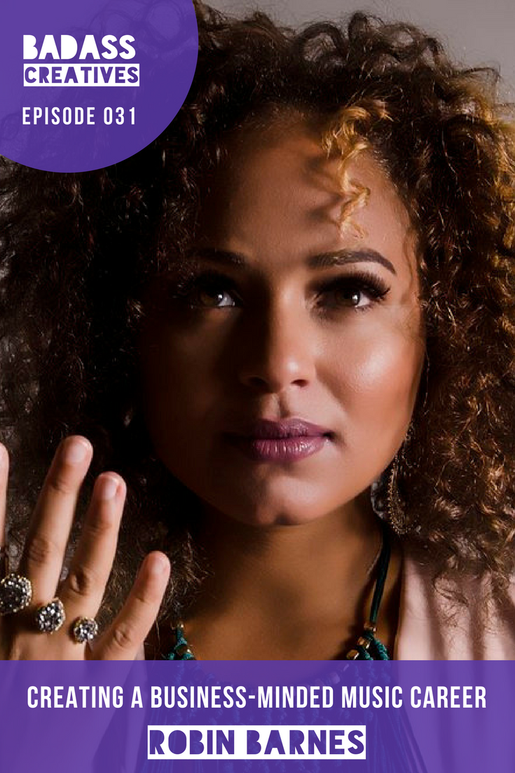 """Robin Barnes, aka the """"Songbird of New Orleans"""" grew up in a musical family and now sees herself as a cultural ambassador of New Orleans. In this episode, she shares how her background in business helped her to create a successful career in music, and how a life-changing health scare inspired her to start her second business, Move Ya Brass, a cardio fitness training program."""