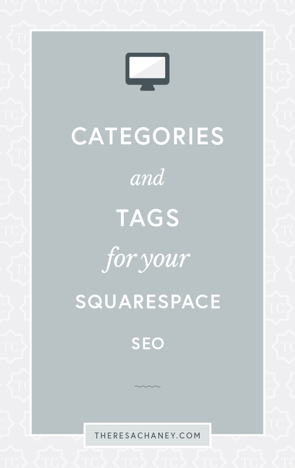 Categories and Tags for your Squarespace SEO