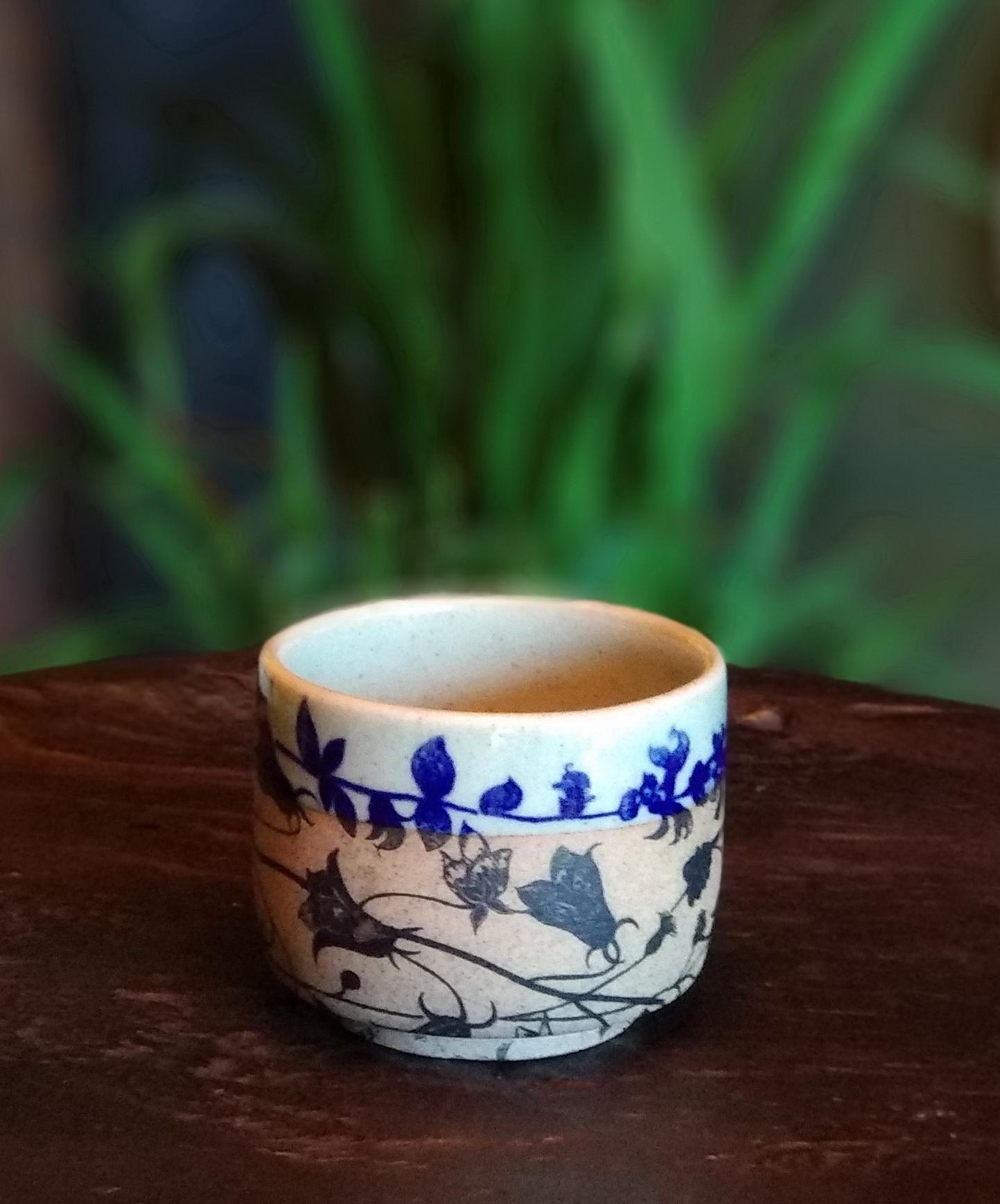 tea cup dry brown blue shiny ash celadon.jpg