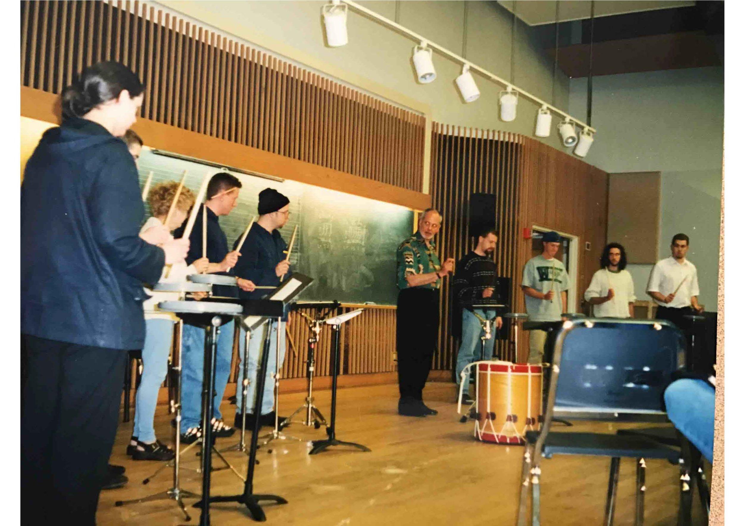 Seattle Pacific University Percussion Ensemble