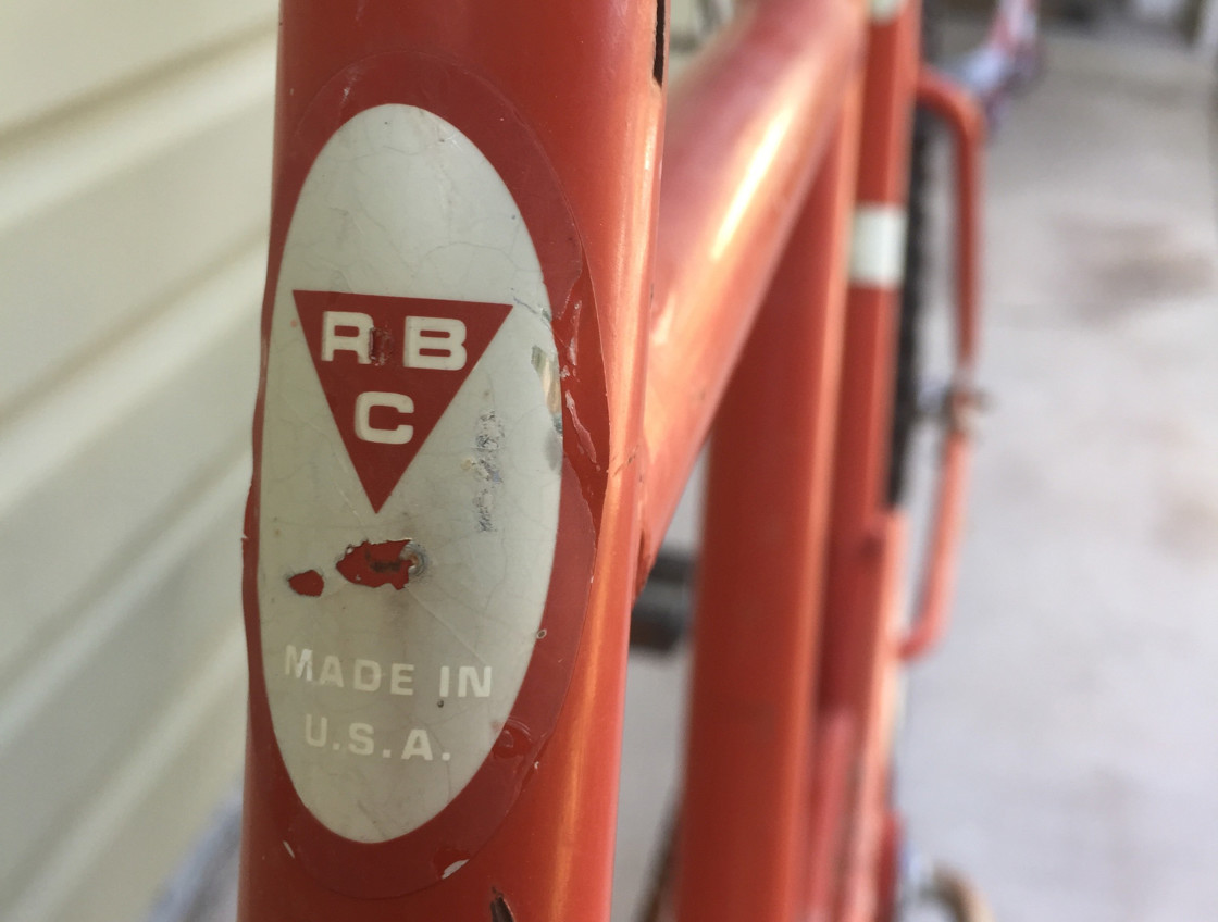 Photo of RBC Tandem Bicycle Logo