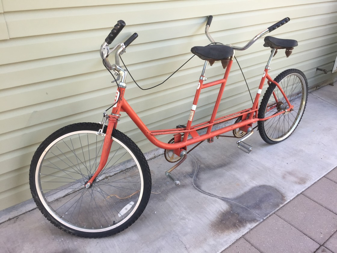Photo of our RBC Ret Bar Cycle Tandem Bike