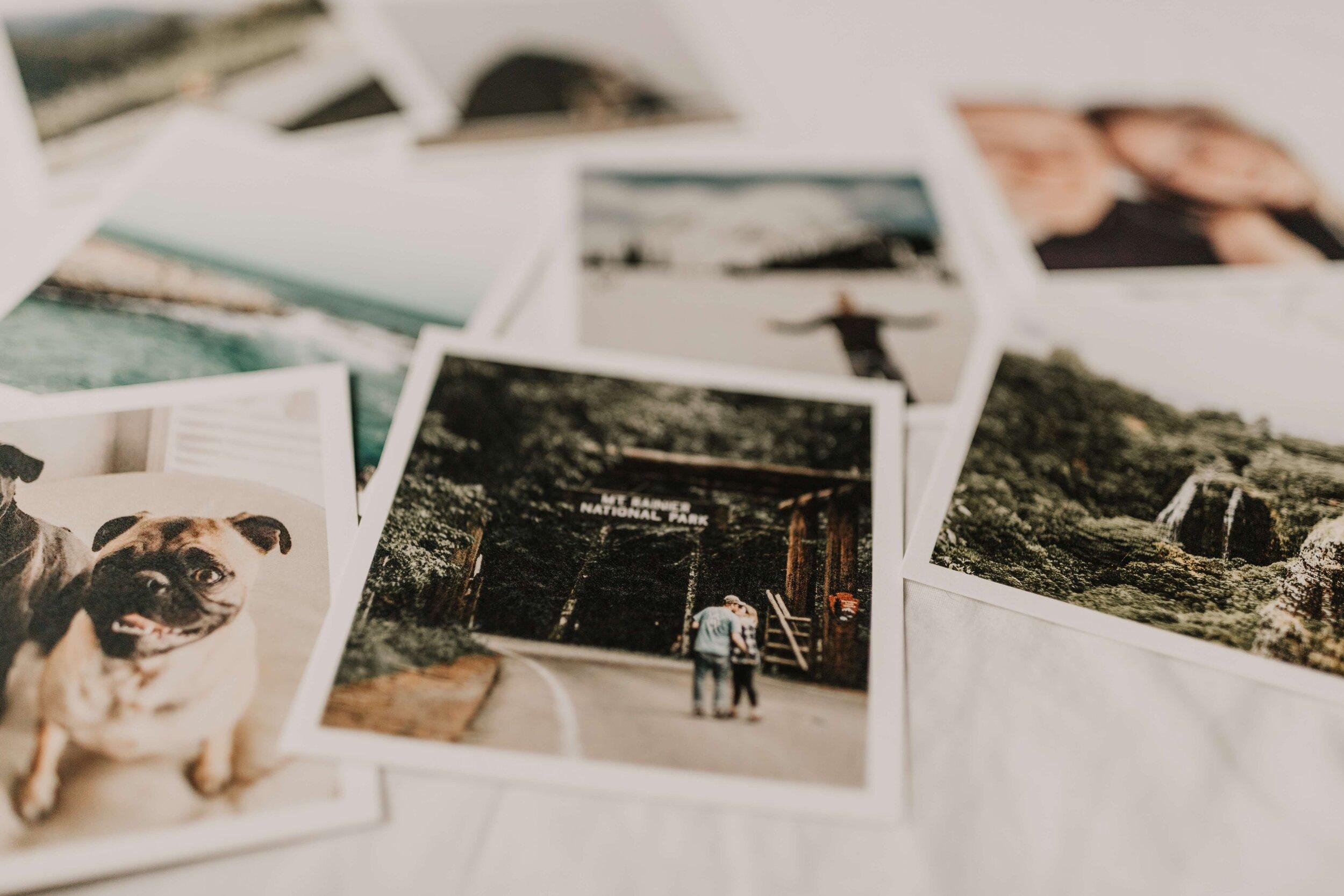 Collection of Polaroid Photos.