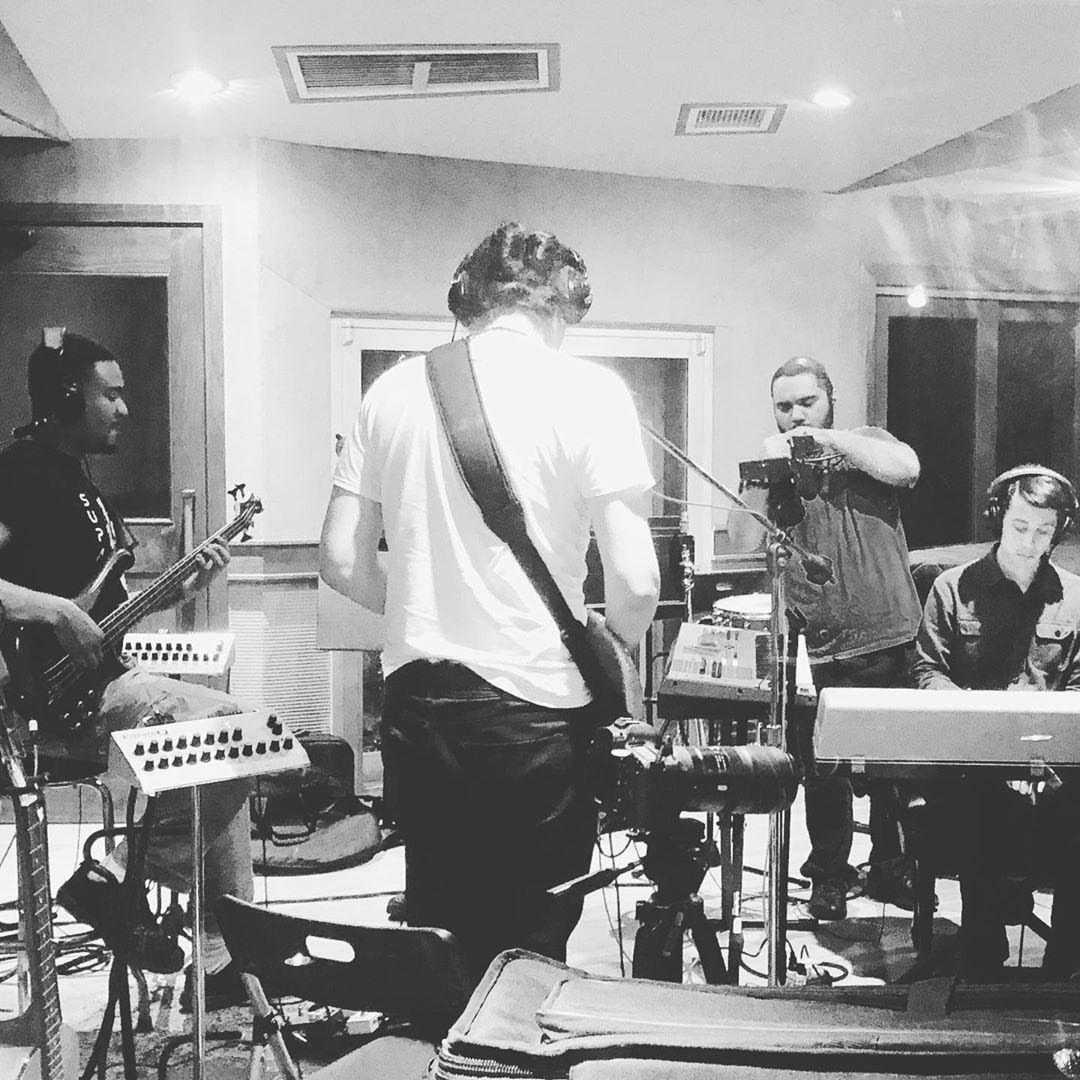 Live tracking @ Eastside Sound Recording Studio