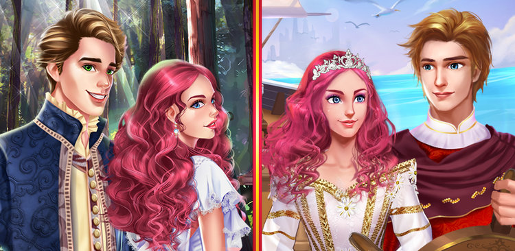 Princess Royal Love Story  In this love story, you play a beautiful teenage princess who has only a short amount of time to find a suitable prince to marry before your father, the King of Lunaria, chooses a prince for you.