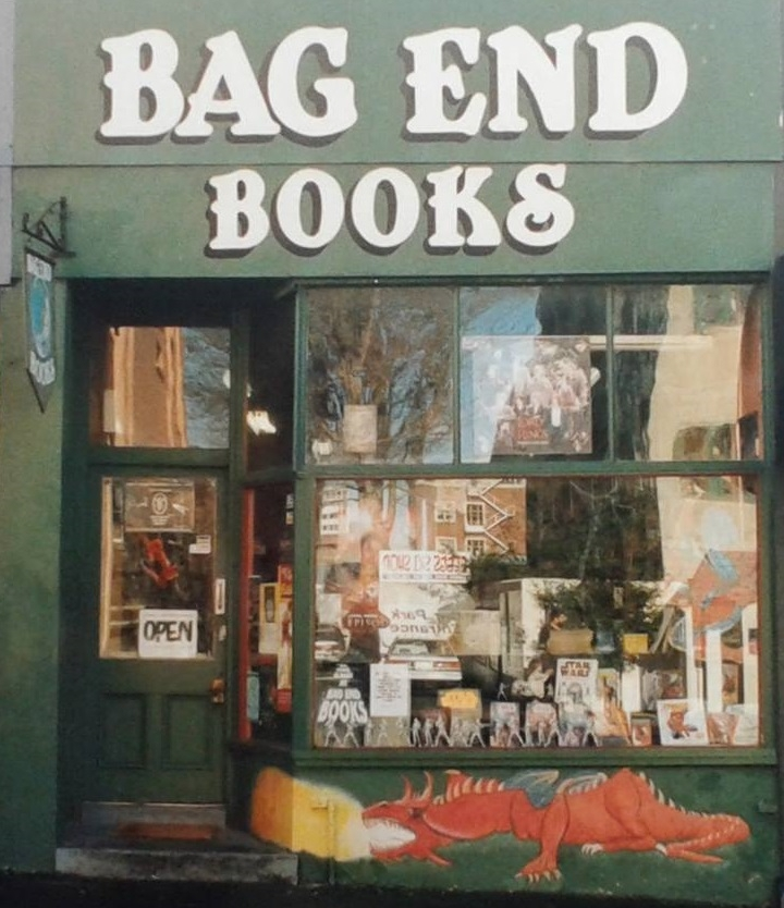 Bag End Books shopfront (photo credit Michael Hazlett)