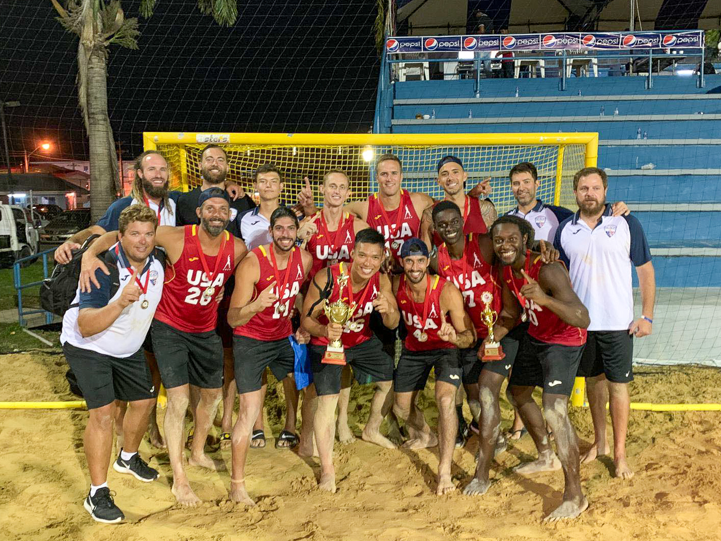 Team USA Wins the 2019 NorCa Beach Handball Championships