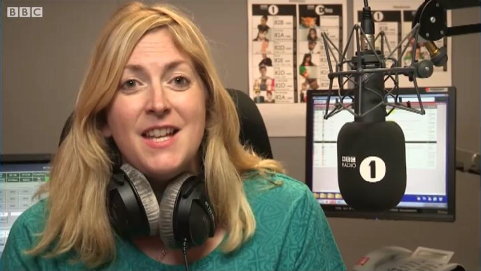 BBC Radio 1 Reporter Natalie Jamieson