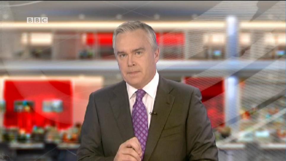 BBC News Presenter Huw Edwards