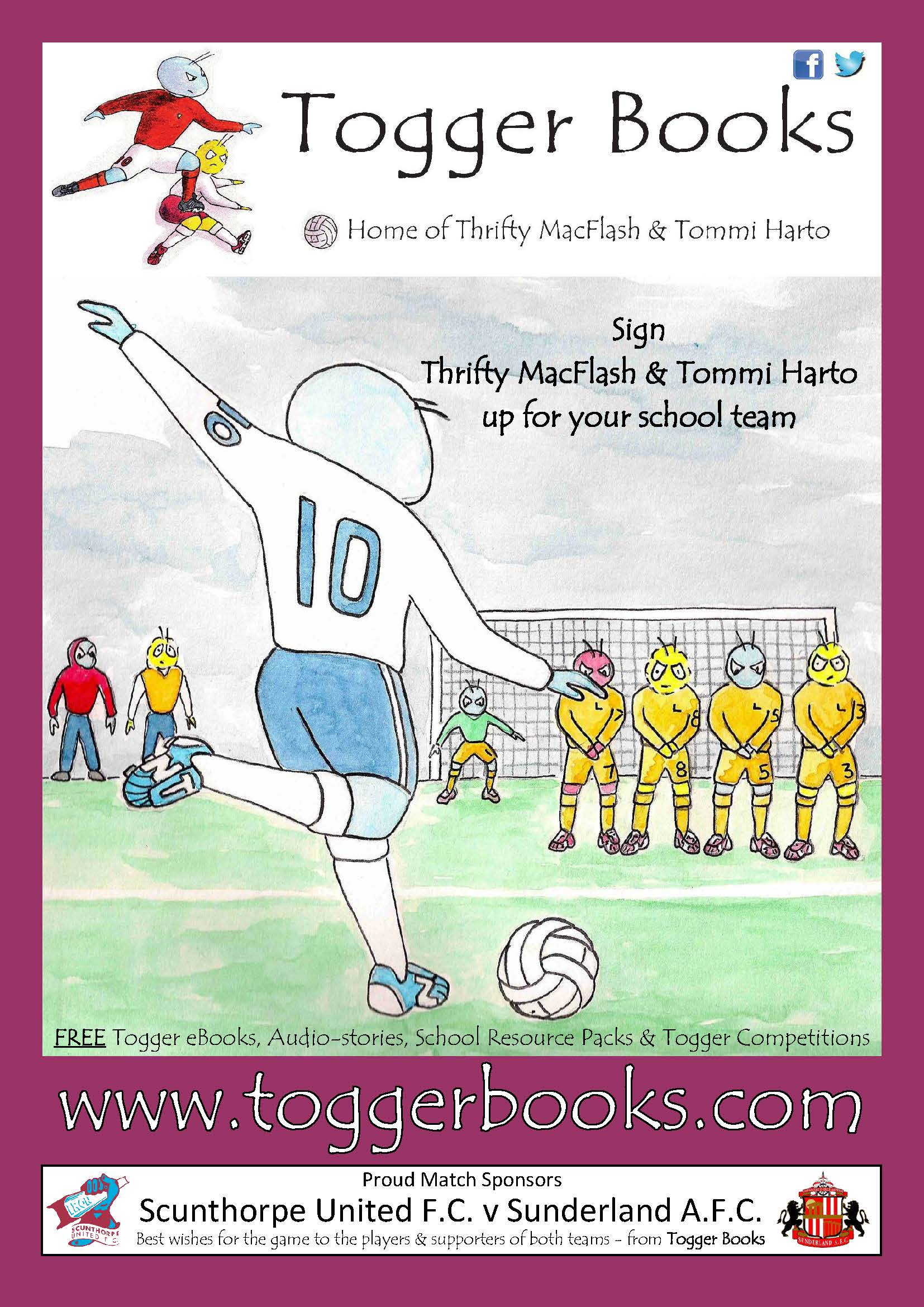 2 Togger Book Sponors Full Page Ad Scunthorpe v Sunderland 2019.jpg