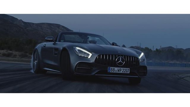 "12/2017 - Ali Farahmand, supporting @sixtyseven_pictures ""INCOMPARABLE"" award winning film, directed by @daniel_michaelis_ for @mercedesbenz on the racetrack in Barcelona #reddigitalcinema #6k #4k #dji #mercedesbenz #mercedesbenzamg #amggtc #amggt #reddragon #redhelium #racetrack #filmmaking #award"