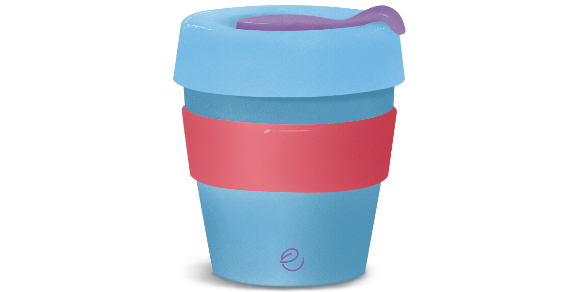 REUSE YOUR CUP    Reduce your consumption of disposable cups when you take out tea or coffee.