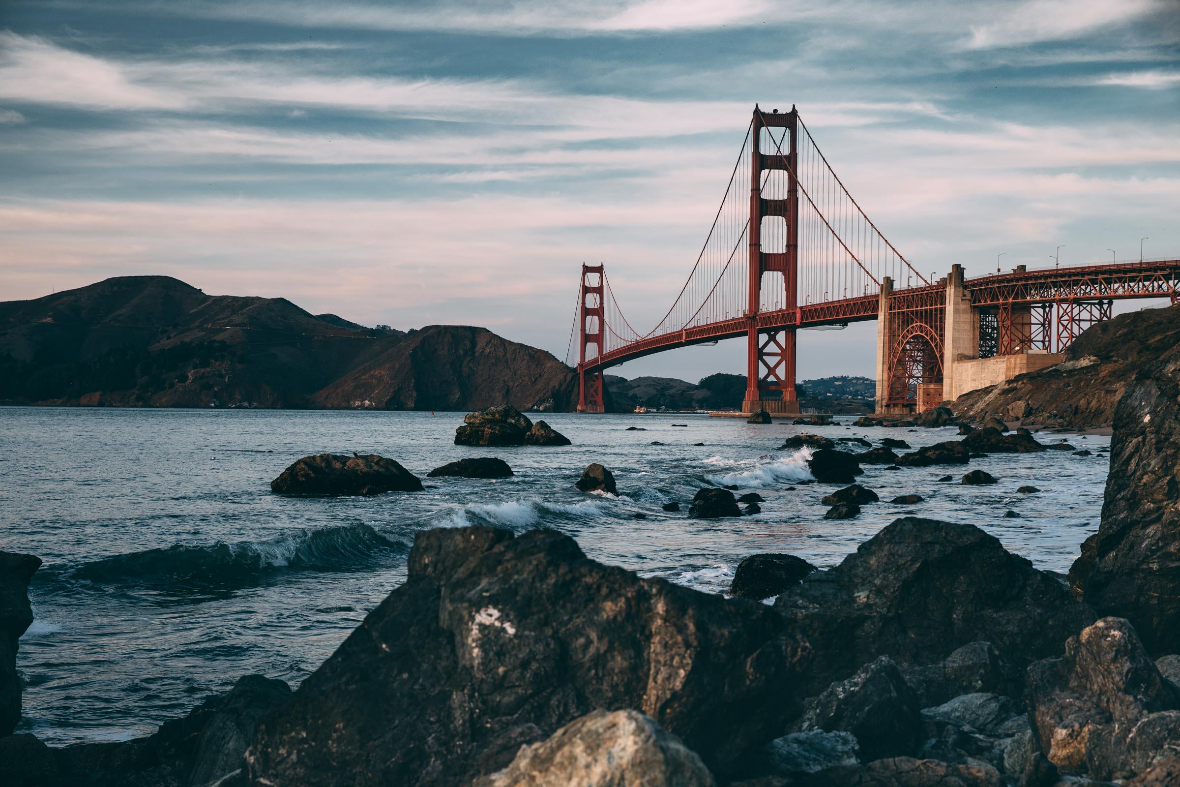 Golden Gate Bridge , USA  2012