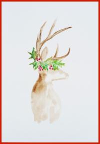 Watercolor Reindeer.png
