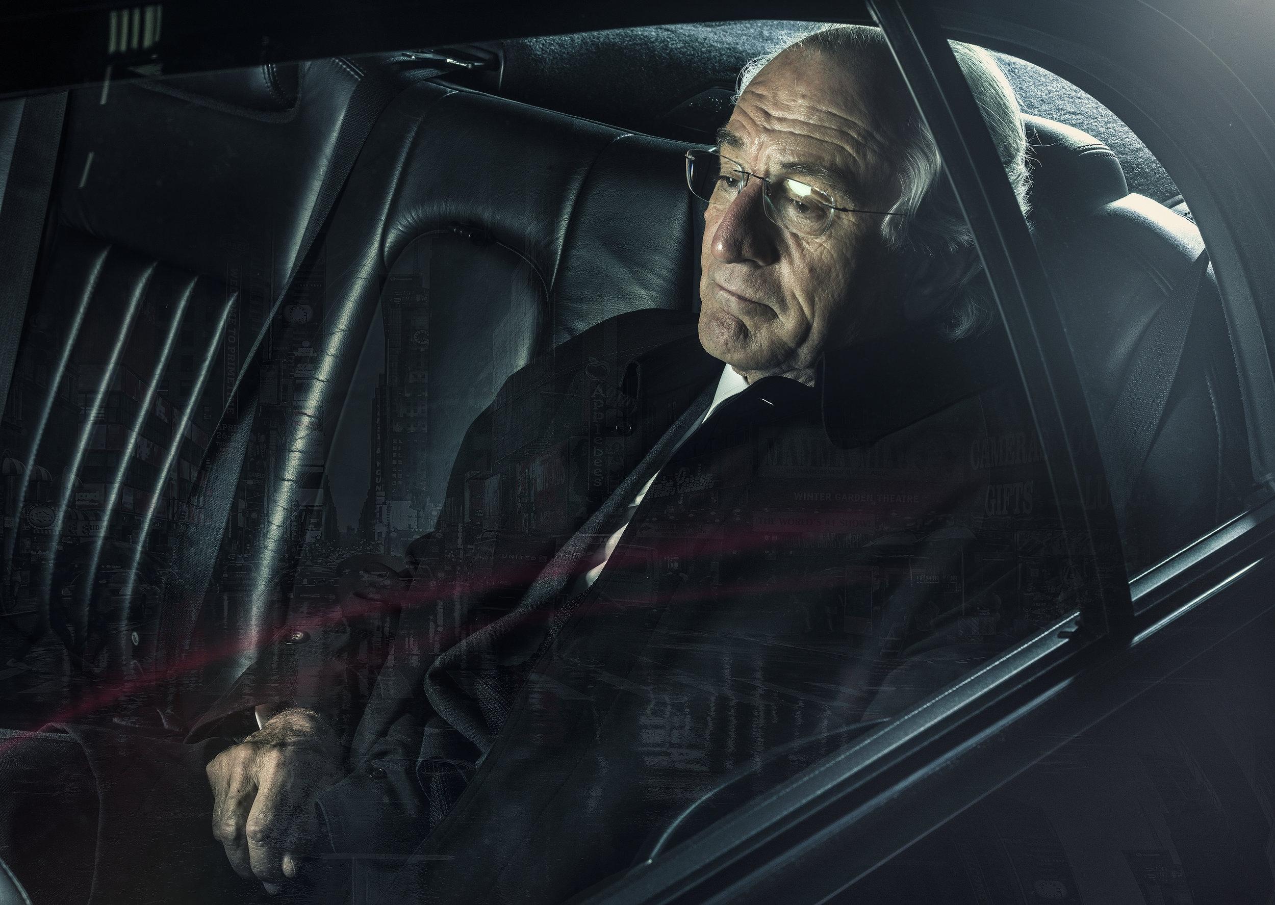 "HBO's  ""WIZARD OF LIES"". ROBERT DE NIRO AS BERNIE MADOFF"