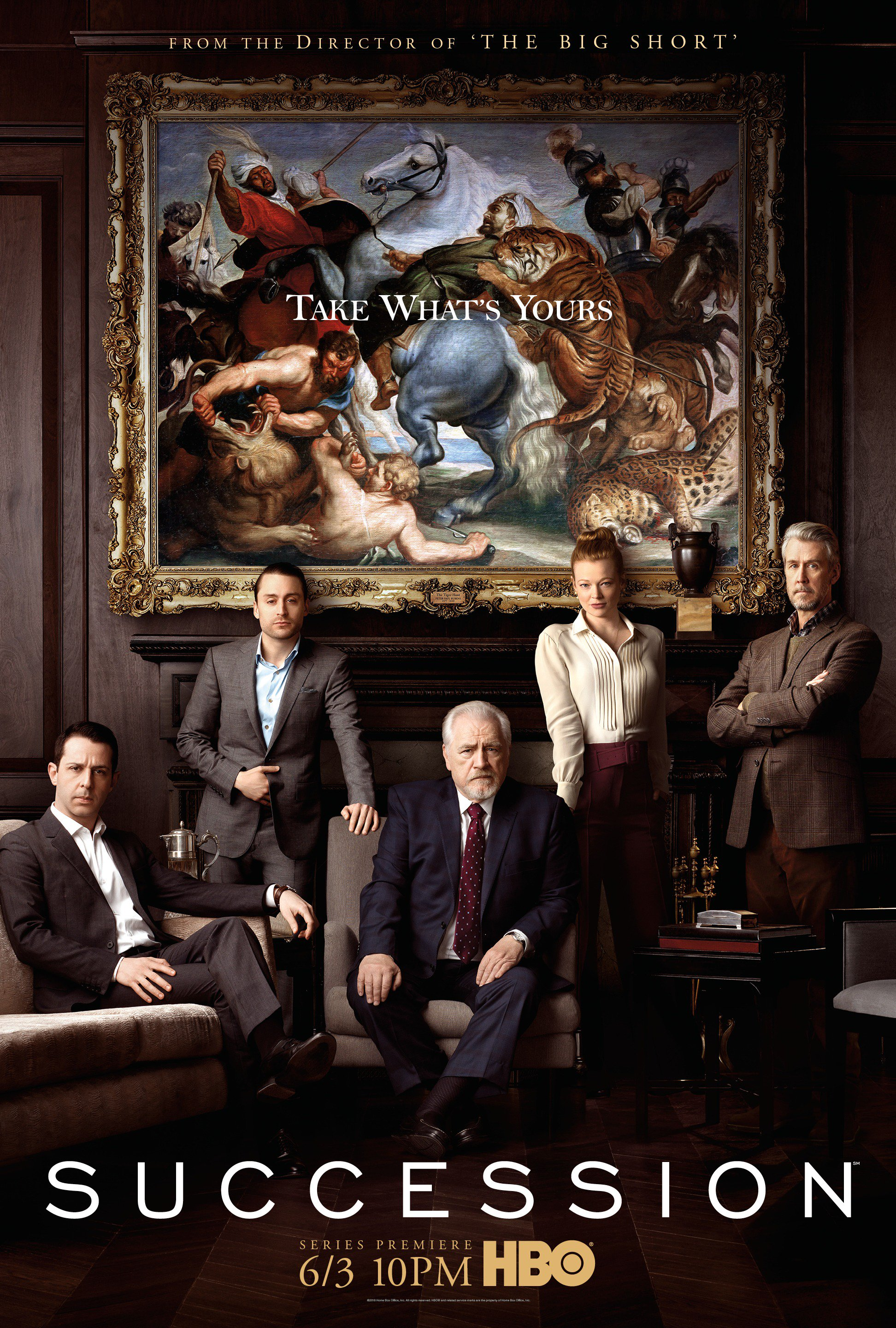 SUCCESSION for HBO
