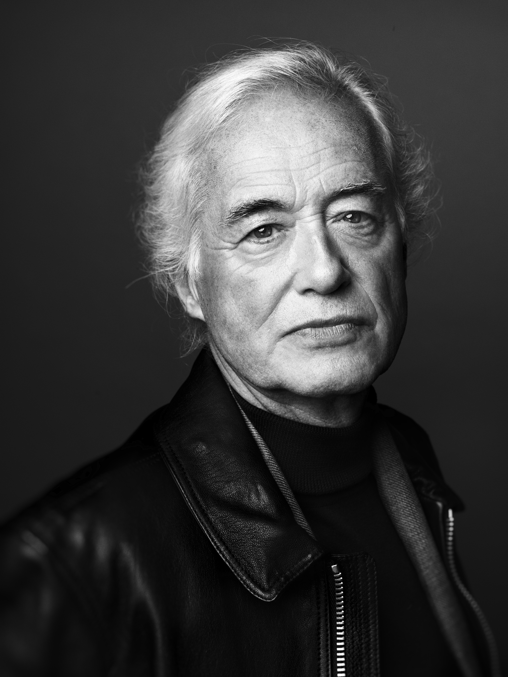 Mr. JIMMY PAGE photographed in London for GQ US