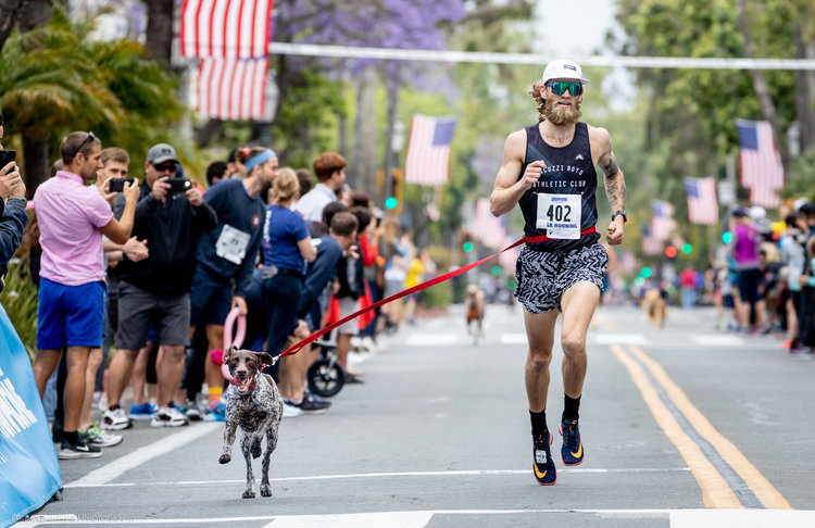 Odessa & Dan Wehunt moments from their Dog Mile world record performance of 4:07