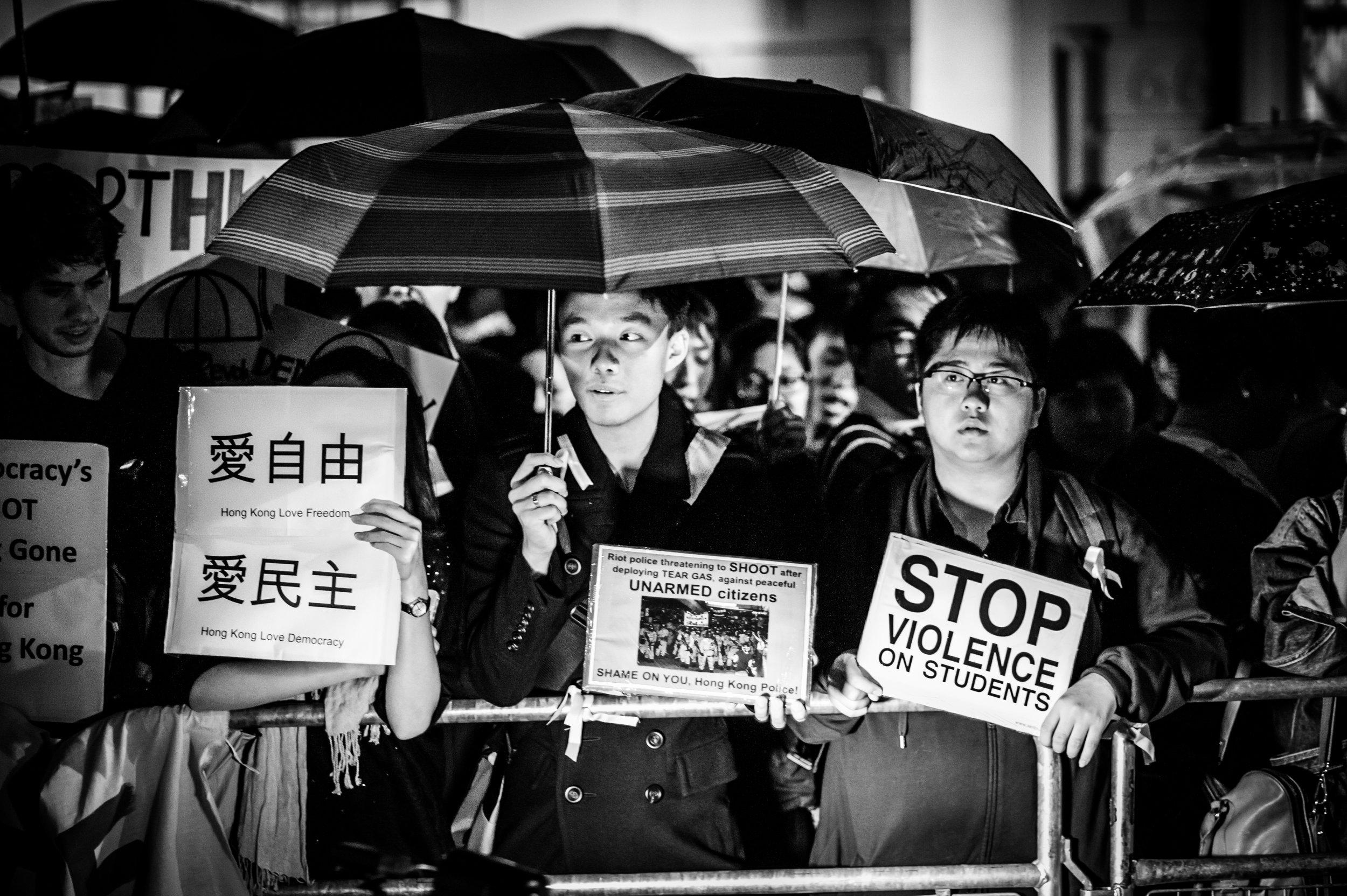 Chinese Embassy Protest 011014 - Suki Mok-3.jpg